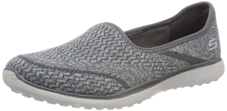 Skechers Microburst-all Mine, Sneaker Donna Grigio (Grey)