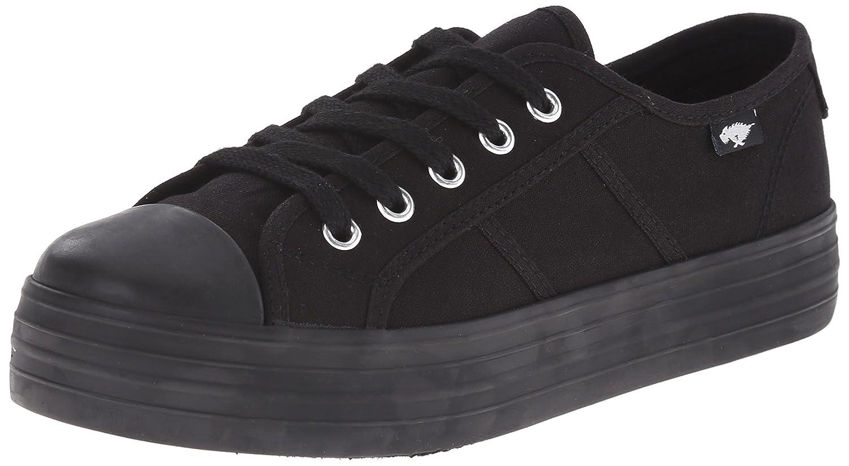 Rocket Dog Women's Magic Canvas Fashion Sneaker B011RKGCRG 6 B(M) US Black