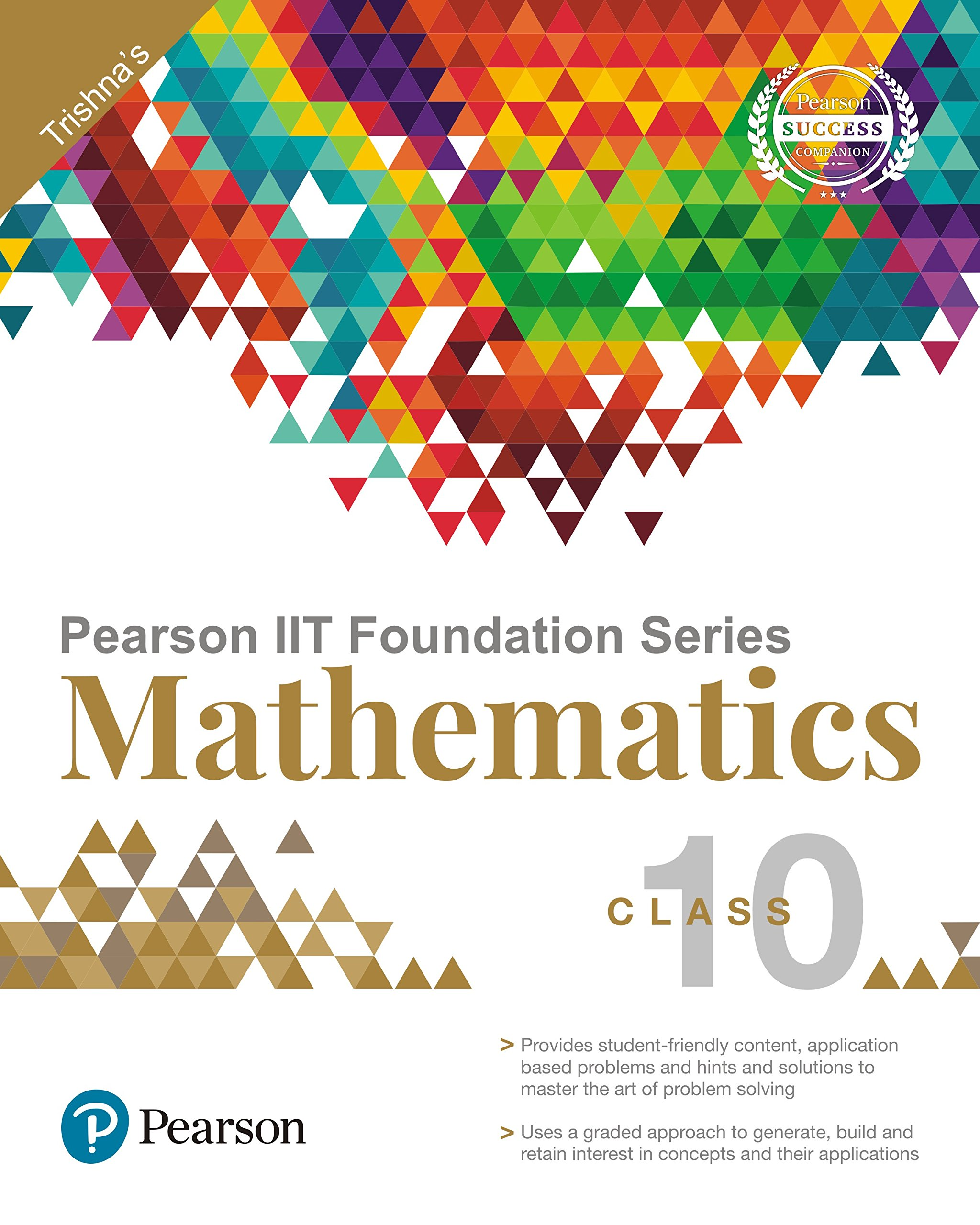 Buy Pearson IIT Foundation Maths Class 10 Book Online at Low