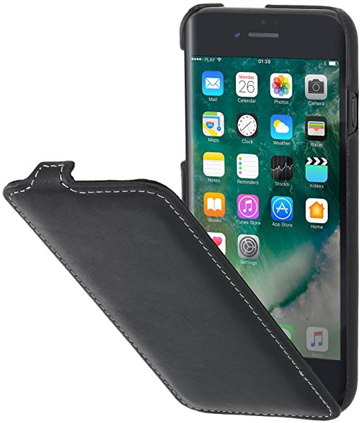 black flip iphone 8 case