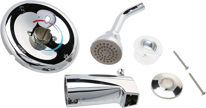 2 Acrylic Sink /& Tub//Shower Handle ~ Moen Chateau ~ New