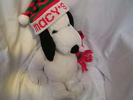 Amazon Com Snoopy Peanuts Macy S Christmas Collectible Plush Toy 20
