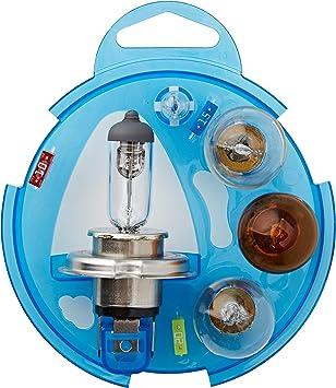 Philips 55718EBKM Essential Box - Caja de bombillas de recambio para coches (H4): Amazon.es: Coche y moto