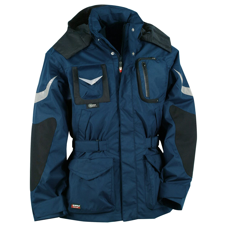 Cofra 40-00V00602-44 - Chaqueta impermeable, color azul marino, talla 44 V006-0-02.Z44
