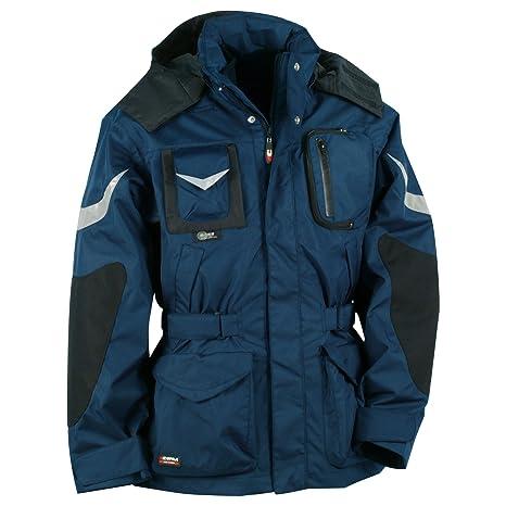 negozio online f0050 be298 Cofra Icestorm - Giacca invernale da lavoro, colore: navy/nero,  40-00V00602-44