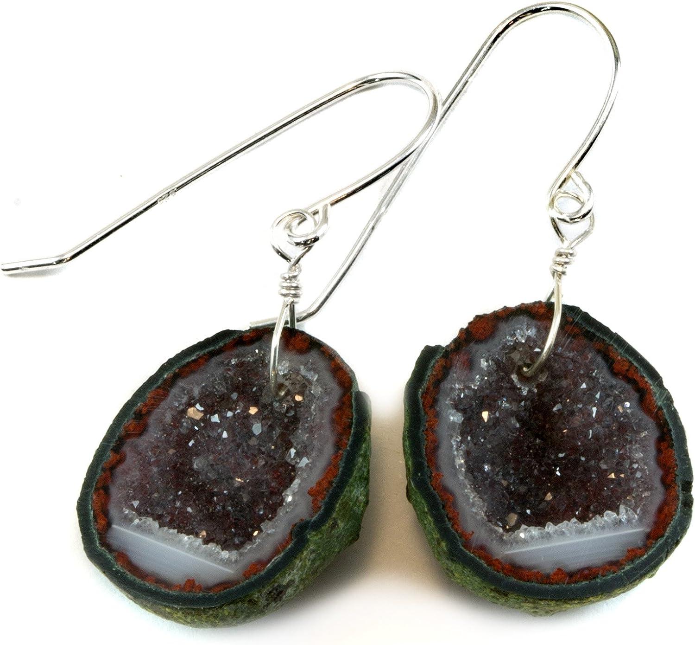 Free form resin Geode earrings