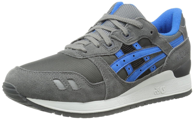 ASICS Men's GEL-Lyte III Sneaker B00HANOLPU 5 D(M) US|Grey/Mid Blue
