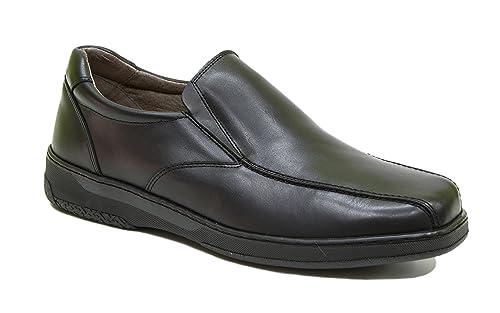 Zapato Cómodo de Hombre, Apto para diabéticos, Zapatos Confort 24 Horas. Disponible Tallas
