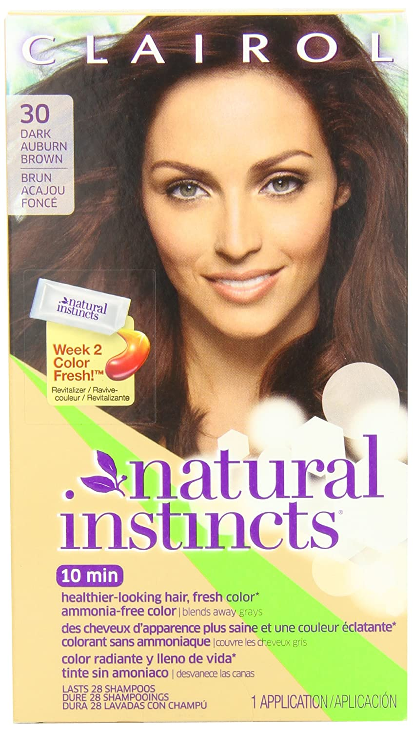 Amazon Clairol Natural Instincts Haircolor Rosewood Dark
