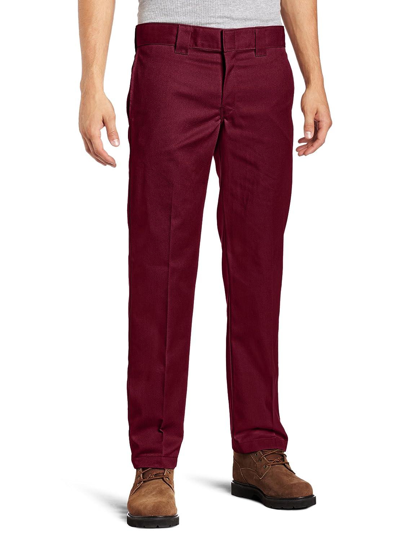 Dickies Men's Slim Straight Fit Work Pant WP873