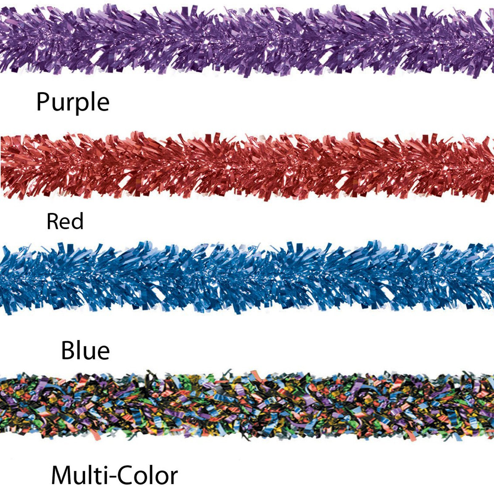 6-Ply FR Gleam 'N Fest Festooning Garland (white) Party Accessory  (1 count)