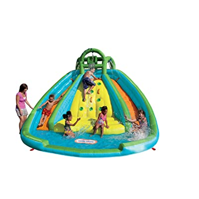 Little Tikes Rocky Mountain River Race Inflatable Slide Bouncer: Toys & Games