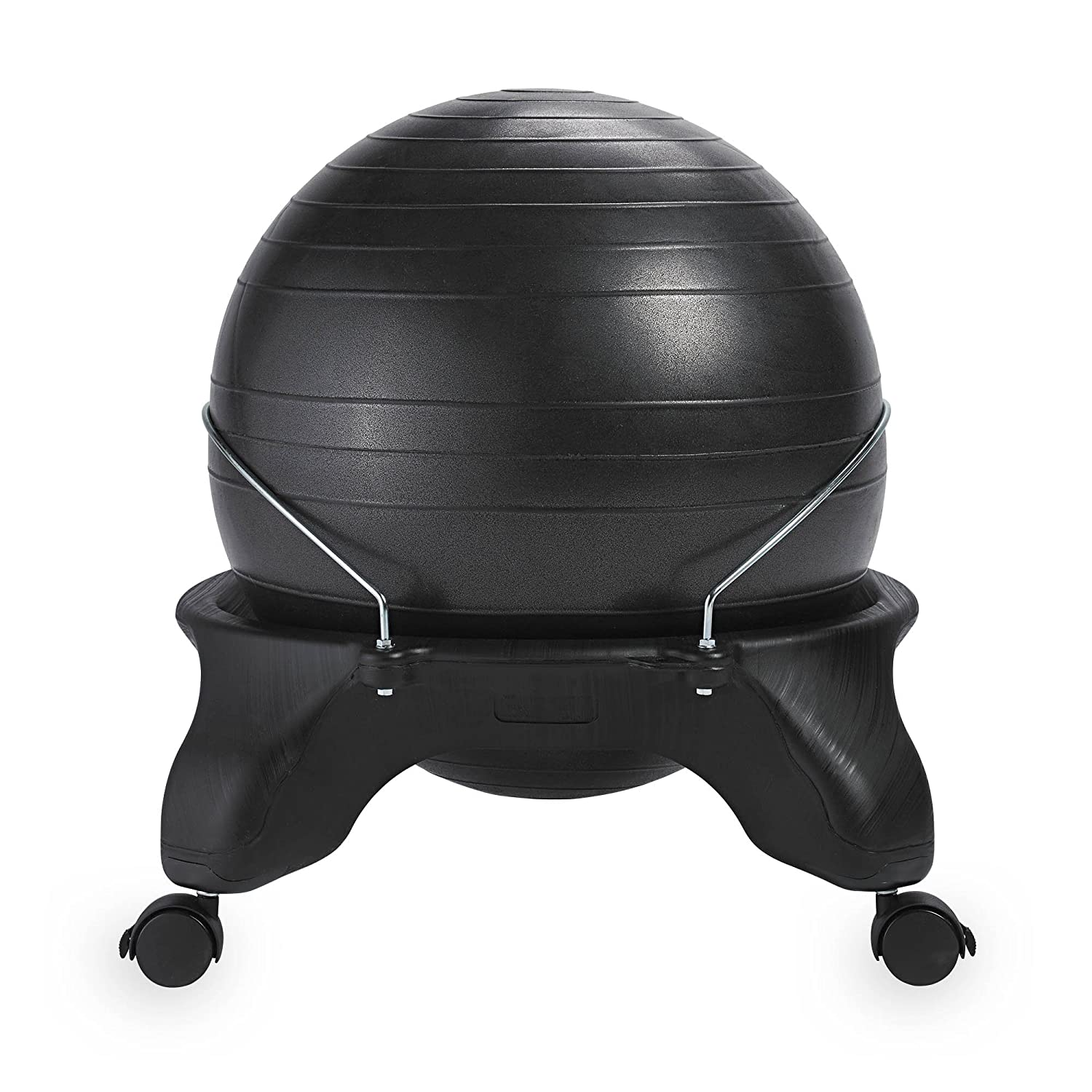 Surprising Gaiam Classic Backless Balance Ball Chair Exercise Stability Yoga Ball Premium Ergonomic Chair For Home And Office Desk With Air Pump Exercise Download Free Architecture Designs Ferenbritishbridgeorg
