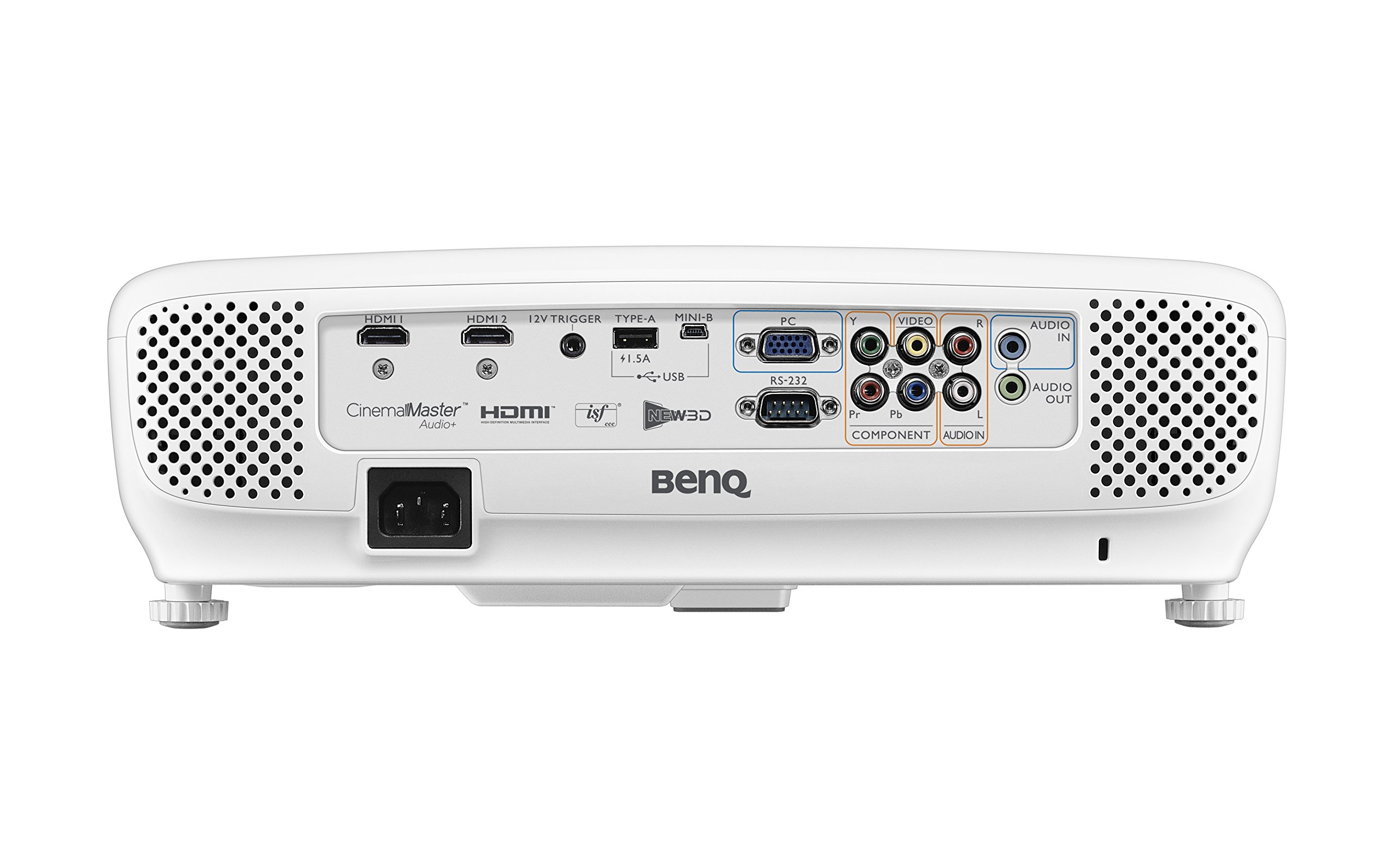 BenQ DLP HD 1080p Projector (HT2050) - 3D Home Theater Projector with All-Glass Cinema Grade Lens and RGBRGB Color Wheel by BenQ (Image #2)