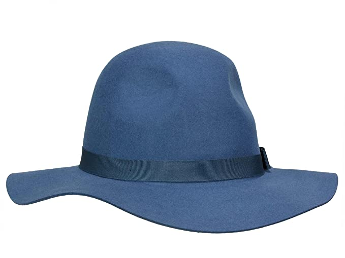 dba85311bb8 Brixton Women s Floppy Hat Dalila - blue  Amazon.co.uk  Clothing