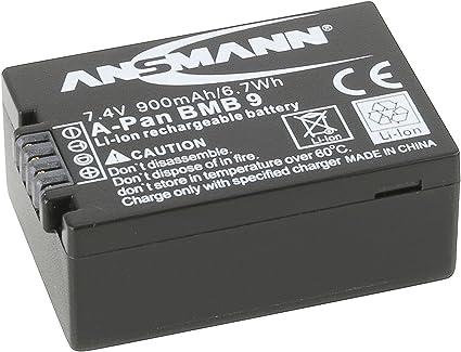 Ansmann 1400 0026 A Pan Dmw Bmb 9e Li Ion Digicam Akku Kamera
