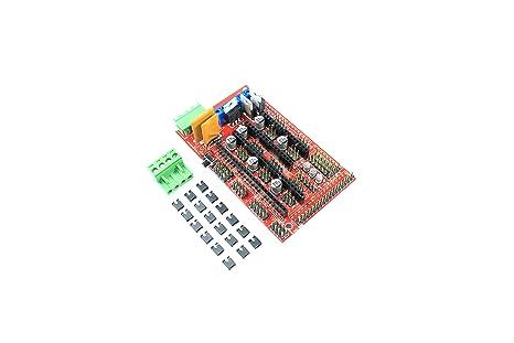 Arduino MEGA RAMPS 1.4 Shield RepRap - Extractor de impresora 3D ...