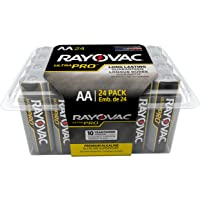 24-Pack Rayovac Batteries ALAA-24F Ultra Pro AA Alkaline Batteries
