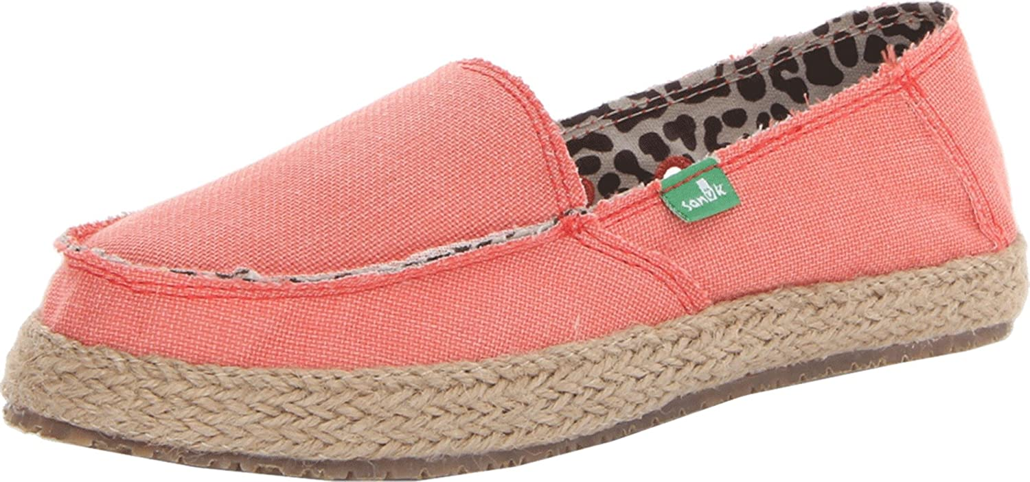 Coral Sanuk Women's Fiona Slip-On