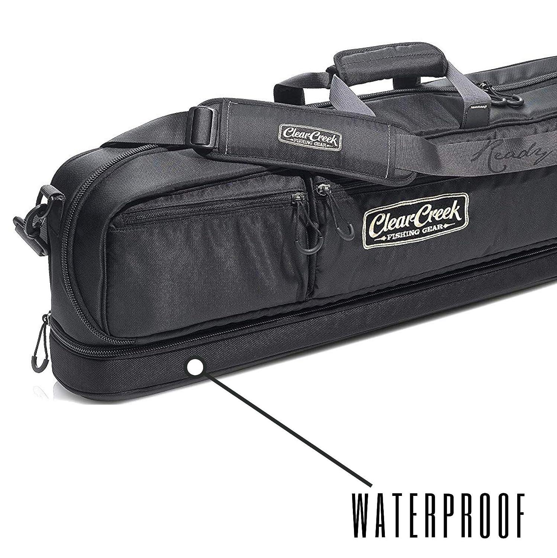 Clear Creek Rum City Rod Carrier Gear Bag