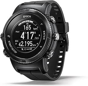 Epson E11E223052 ProSense 367 GPS Multisport Watch with Ultra Long Battery Life and Sapphire Glass - Black