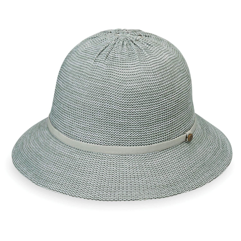 Wallaroo Hat Company Women's Tori Sun Hat - Mixed Seafoam - UPF 50+, New 2019