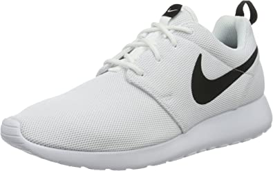 Nike Roshe One, Zapatillas de Running para Niñas, Blanco (Blanco (White/White-Black), 35 1/2 EU: Amazon.es: Zapatos y complementos