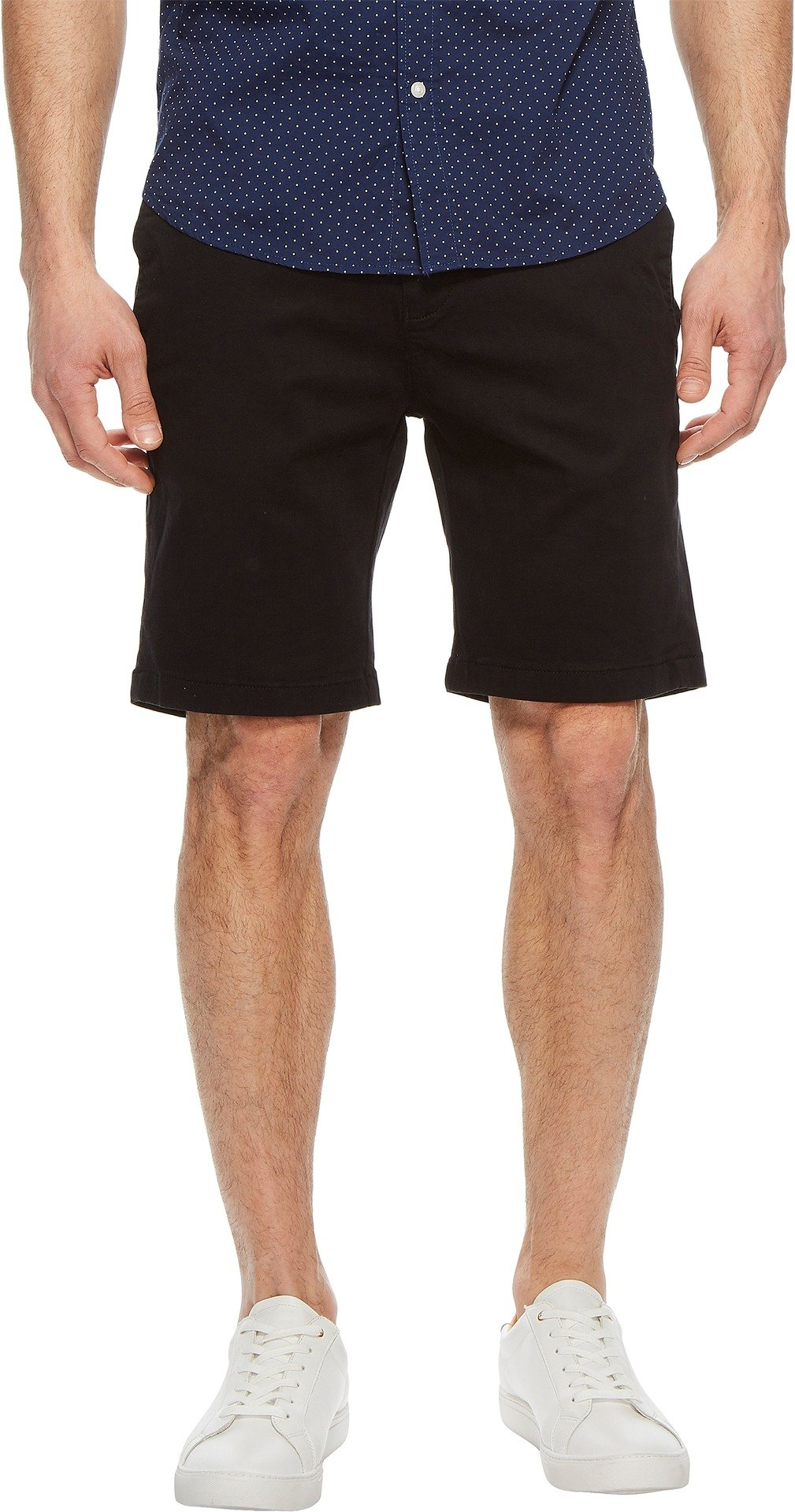 34 Heritage Men's Nevada Shorts In Black Twill Black 34 9.5