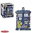 "Funko 33284 Pop Vinilo: Doctor Who: 6"" Tardis (Clara Memorial), Multi"