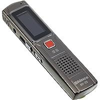 新科 RV-25 8G 录音笔 黑色(360度环绕采集音源,全金属打造,一键录音)