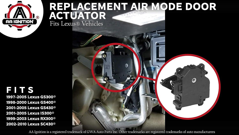 Mode HVAC Air Door Actuator - Fits Lexus 97-05 GS300, GS400