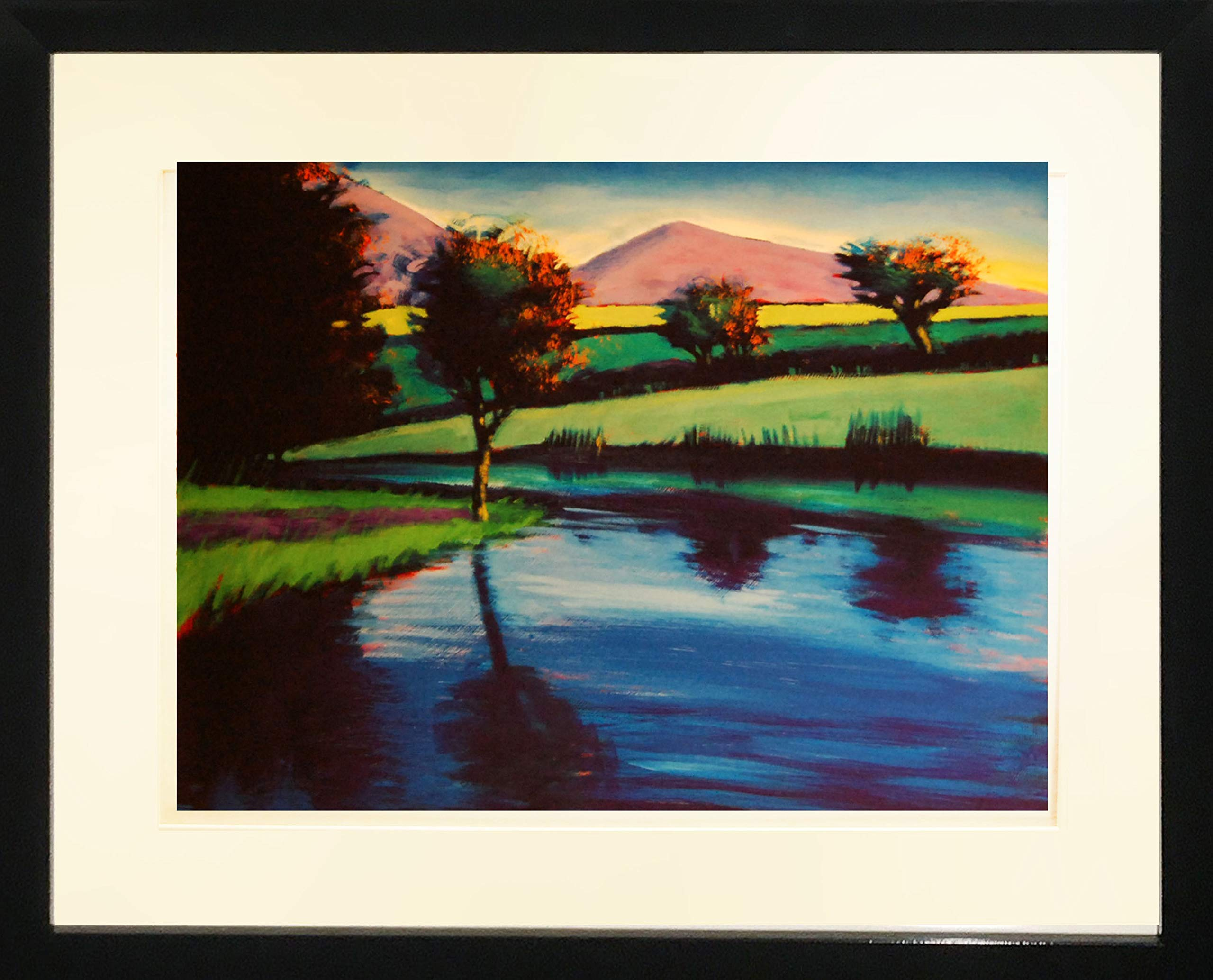 Framed Art''Blue River I'' by Paul Powis by