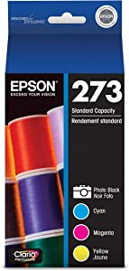 Epson T273520 DURABrite Ultra Photo Black and Color Combo Pack Cartridge Ink