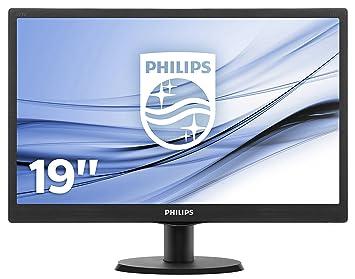 Philips 193V5LSB2 18 5 inch LCD/LED Monitor - Black