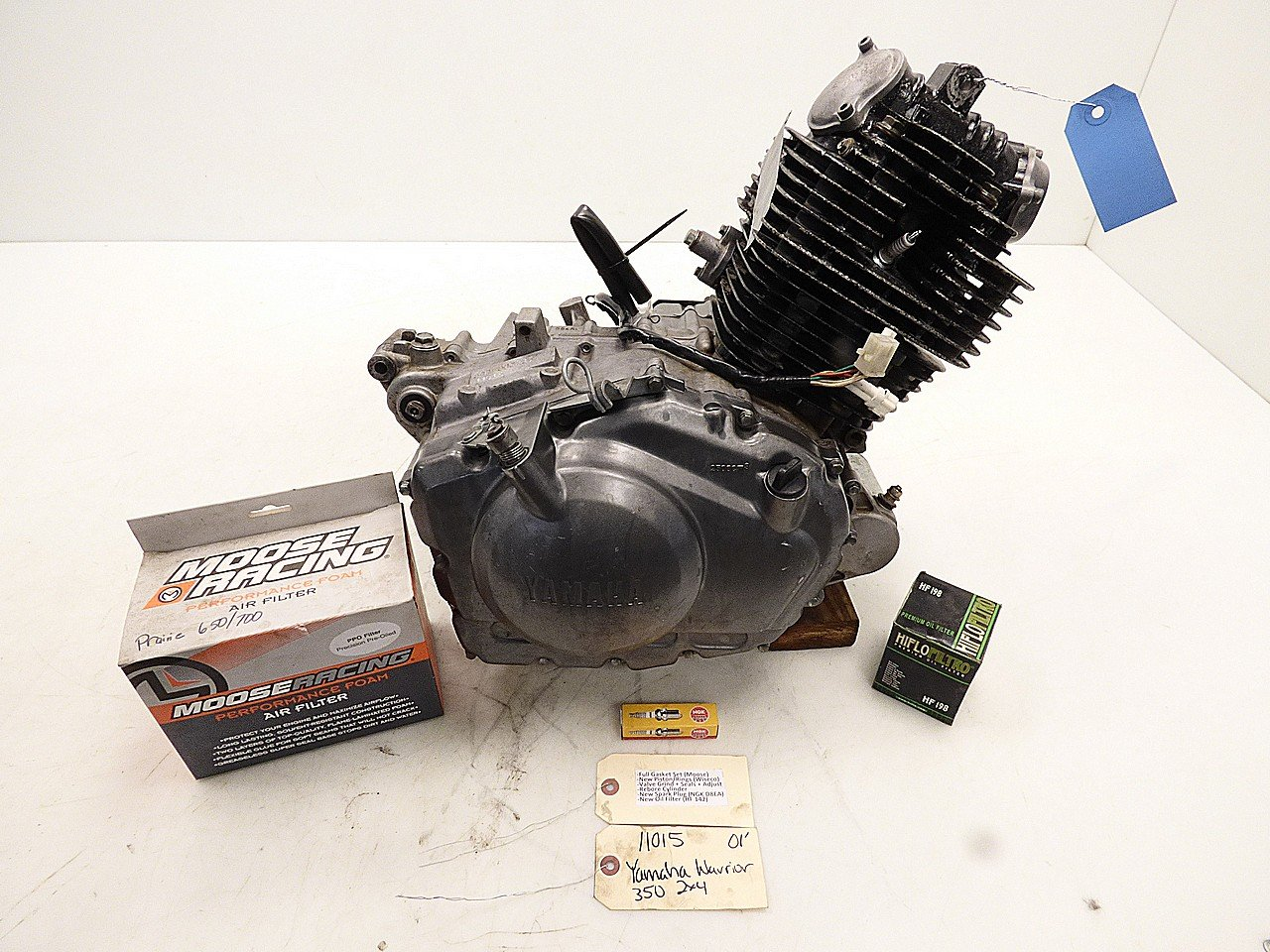 amazon com yamaha warrior 350 87 04 engine motor rebuilt automotive rh amazon com Yamaha Warrior 350 Carburetor Diagram Yamaha Warrior 350 Specifications