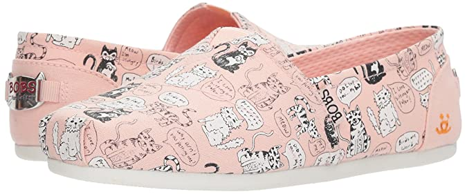 Pink Skechers Bobs Plush Quote Me Bobs Shoes Womens Sale