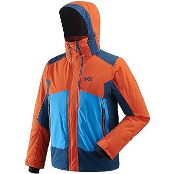 Millet 7/24 Stretch JKT - Chaqueta de esquí para Hombre, Naranja/Poseidon, FR: XL (Talla Fabricante: XL): Amazon.es: Deportes y aire libre