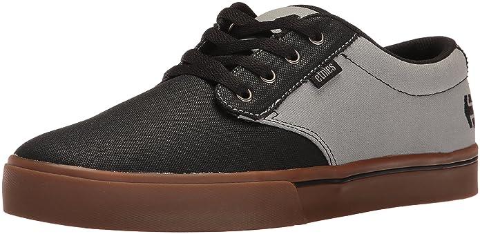 Etnies Jameson 2 Eco Sneakers Skateboardschuhe Herren Erwachsene Schwarz/Grau