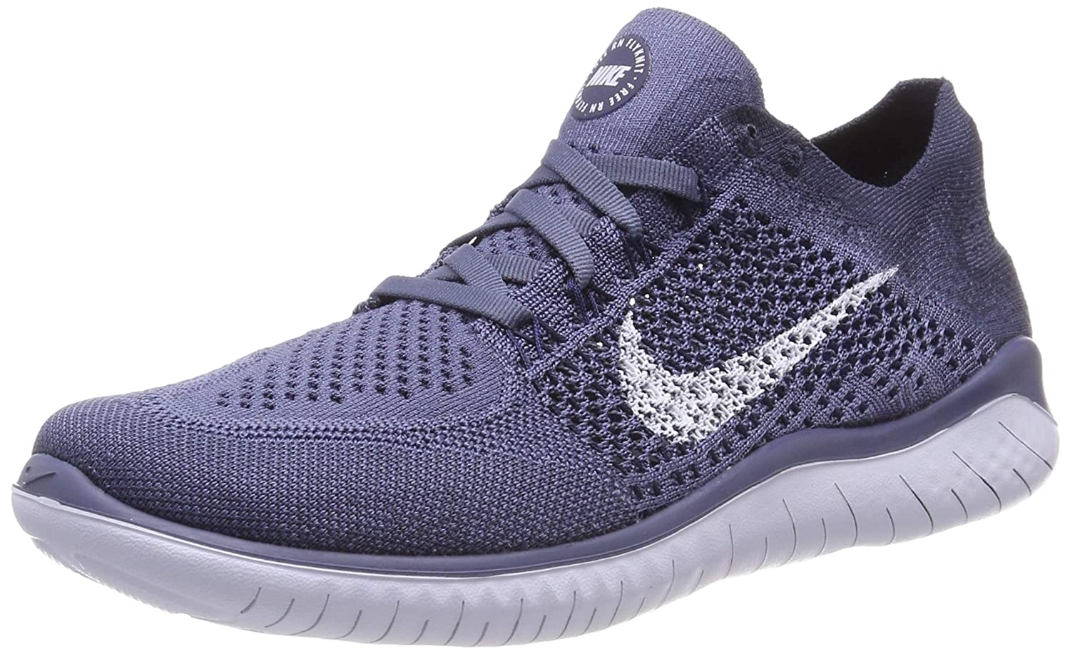 17ca4a6afd ... wholesale amazon nike free rn flyknit 2018 mens running shoe diffused  blue football grey thunder blue