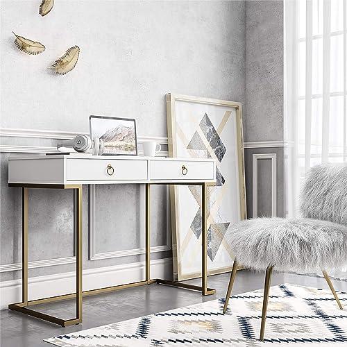 CosmoLiving Camila Modern Office Desk