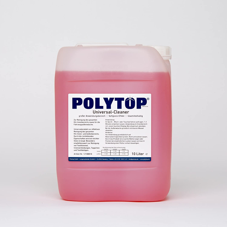 Polytop Universal Cleaner Kfz und Haushalt Allzweckreiniger Insektenentferner Innenreiniger 10 L