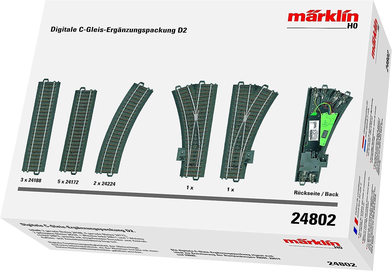 Märklin 24802 Digitale C Gleis Ergänzungspackung D2 Spur H0 Spielzeug