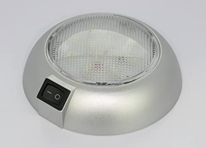 Amazoncom Battery Powered Led Dome Light Magnetic Or Fixed Mount