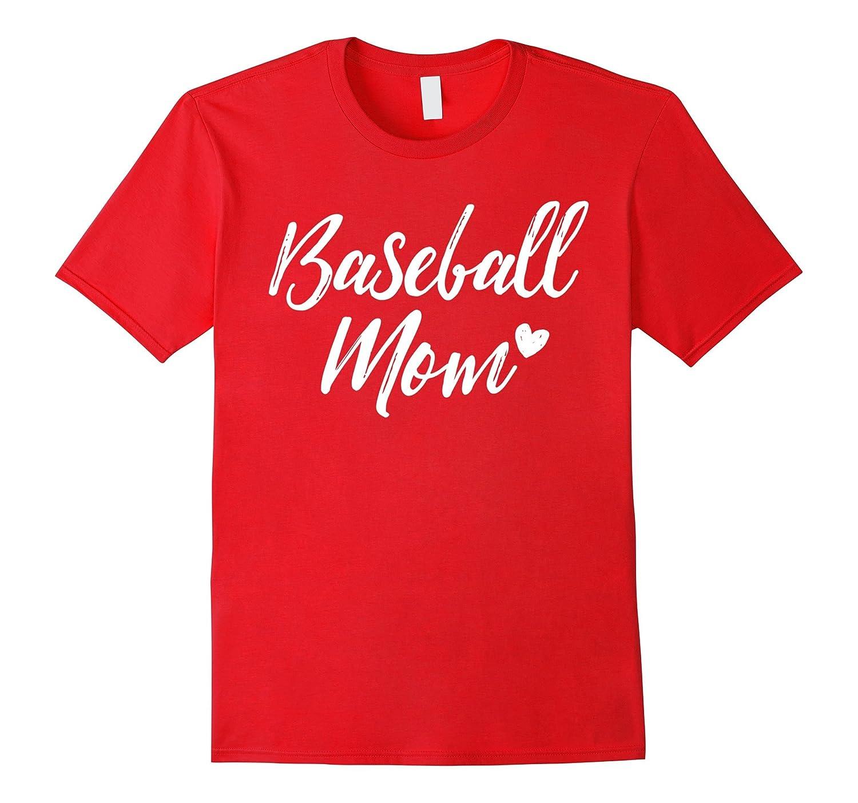 Baseball Mom T-Shirt-PL