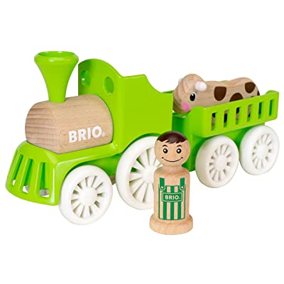 BRIO Farm Train Set: Toys & Games
