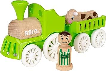 Détails sur Brio CIRCUIT TRAIN DE LA FERME Jouet en Bois Pour Enfants Cadeau Neuf