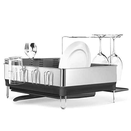 Simplehuman Kitchen Steel Frame Dish Rack