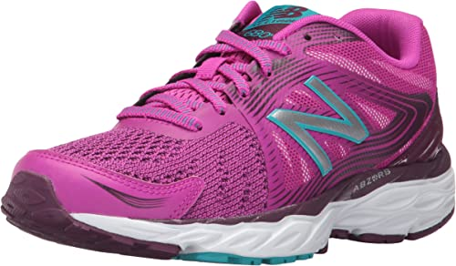New Balance - 680v4 Mujer , Rojo (Poisonberry/Dark Mulberry), 7 D US: Amazon.es: Zapatos y complementos