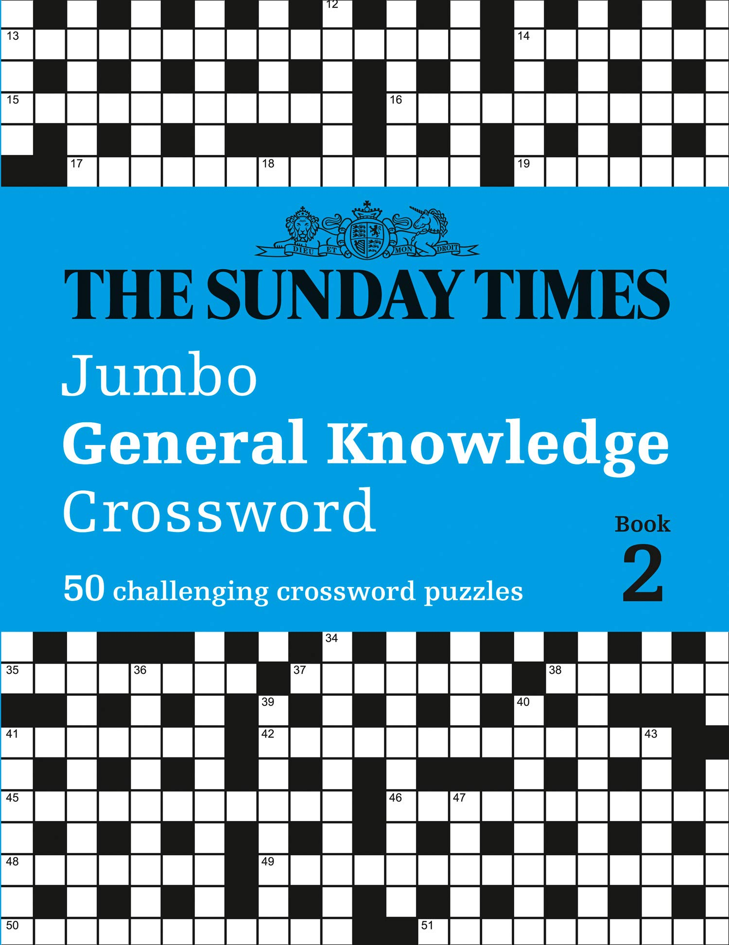 The Sunday Times Jumbo General Knowledge Crossword Book 2 50 General Knowledge Crosswords Times Mind Games Amazon Co Uk The Times Mind Games Biddlecombe Peter 9780008404239 Books