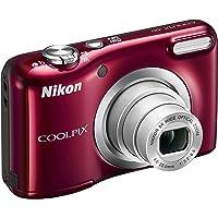 "Nikon Coolpix A10 Fotocamera Digitale Compatta, 16 Megapixel, Zoom 5X, LCD 2,8"", HD, Rosso [Nital card: 4 anni di garanzia]"